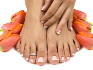 Правильный уход за ногтями ног